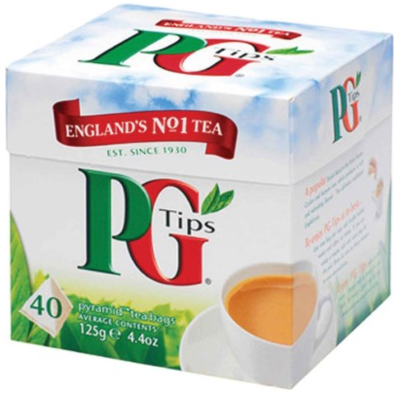 PG Tips Black Tea - 40 Tea Bags