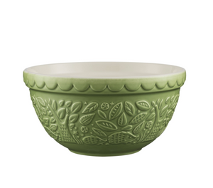Mason Cash Mixing Bowl 1.15 QT - In the Forest Collection, Green