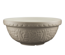Load image into Gallery viewer, Mason Cash Mixing Bowl 2.85 QT - In the Forest Collection, Stone