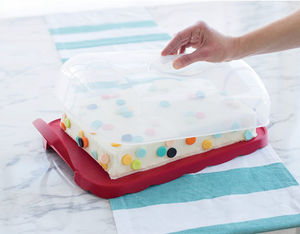 Nordic Ware Cake and Cupcake Carrier - 2 in 1