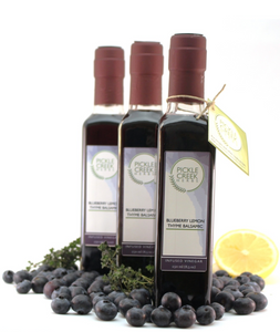 Blueberry Lemon Thyme Infused Balsamic Vinegar
