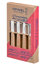 Load image into Gallery viewer, Opinel Essential Small Kitchen Knife Set