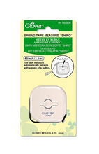 Load image into Gallery viewer, Clover Measuring Tape - Spring Loaded