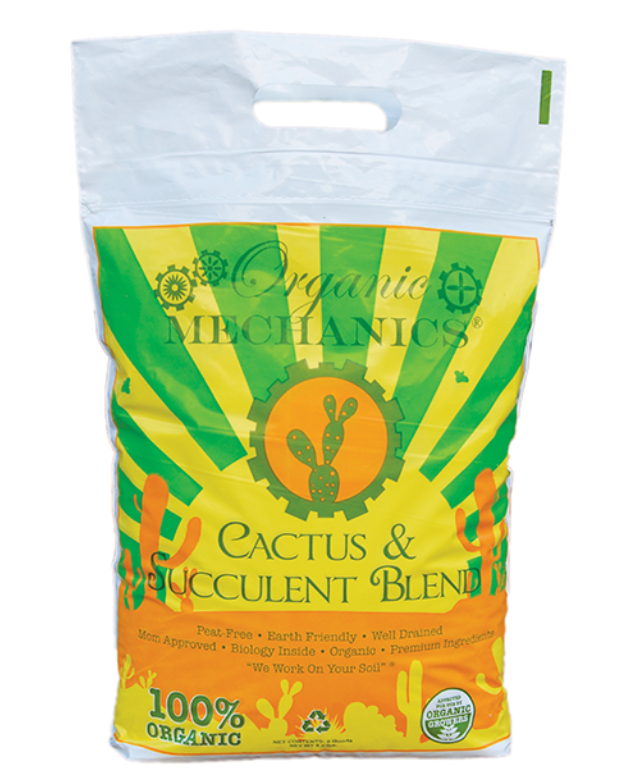 Organic Potting Soil -  Cactus and Succulent Blend