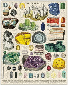 Mineralogy 1,000 Piece Puzzle
