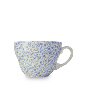 Burleigh Blue Felicity Breakfast Cup and Saucer