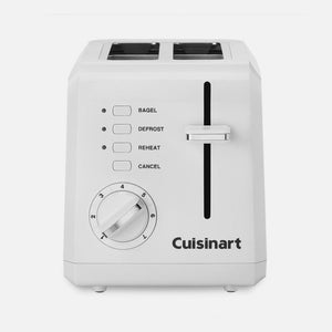Cuisinart Toaster - Compact Plastic Toaster, 2-slice