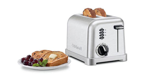 Cuisinart Toaster - Classic Metal Toaster, 2-Slice