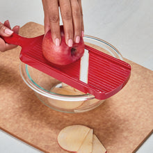 Load image into Gallery viewer, Kyocera Ceramic Double-Edged Mandoline Slicer