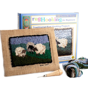 Traditional Sheep Rug Hooking Kit