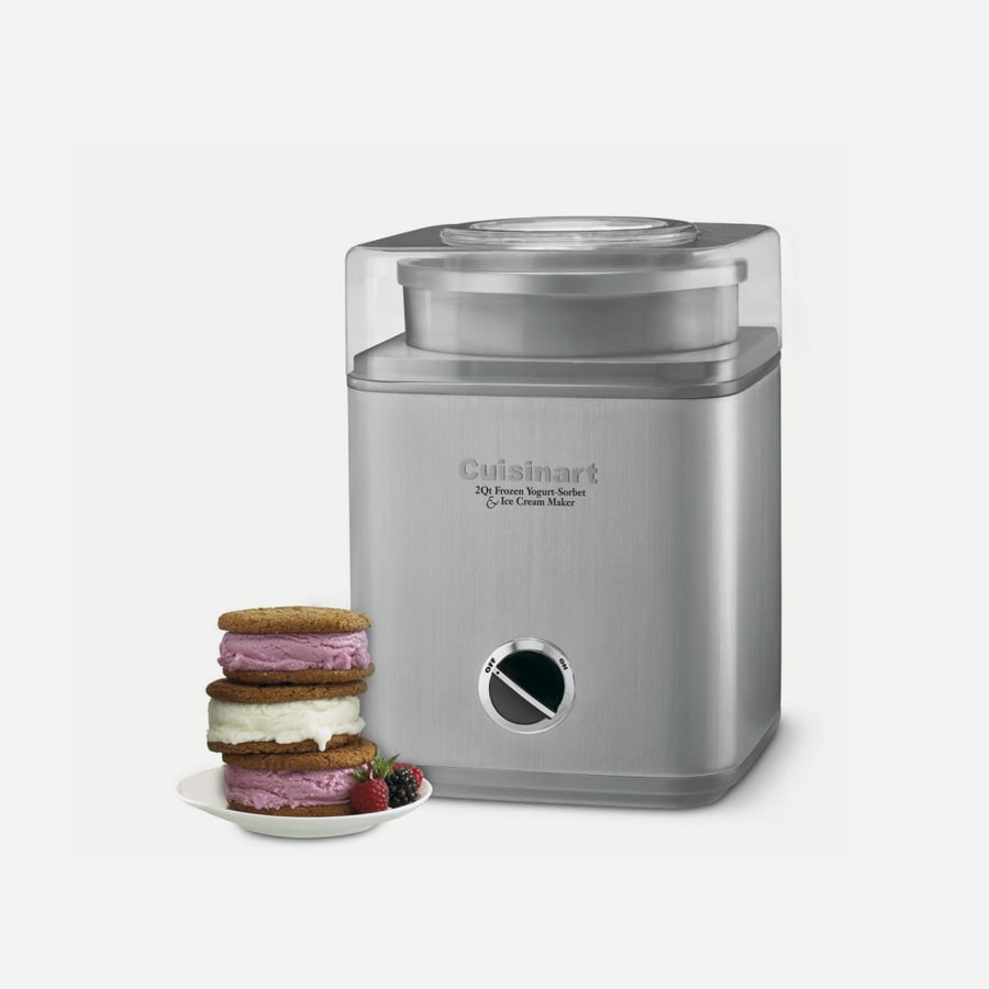Cuisinart Ice Cream Maker - Pure Indulgence 2 Qt. Frozen Yogurt-Sorbet and Ice Cream Maker