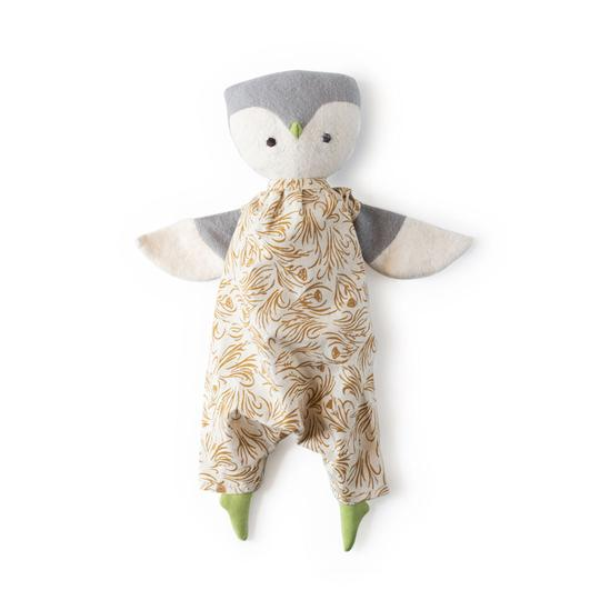 Hazel Village - Lucy Owl in Herb Meadow Coverall
