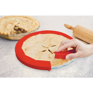 Pie Crust Shield, Silicone - Adjustable