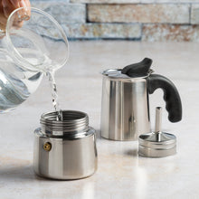 Load image into Gallery viewer, Primula Stainless Steel Espresso Maker