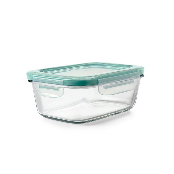 OXO Good Grips 3.5 Cup Smart Seal Glass Rectangle Container