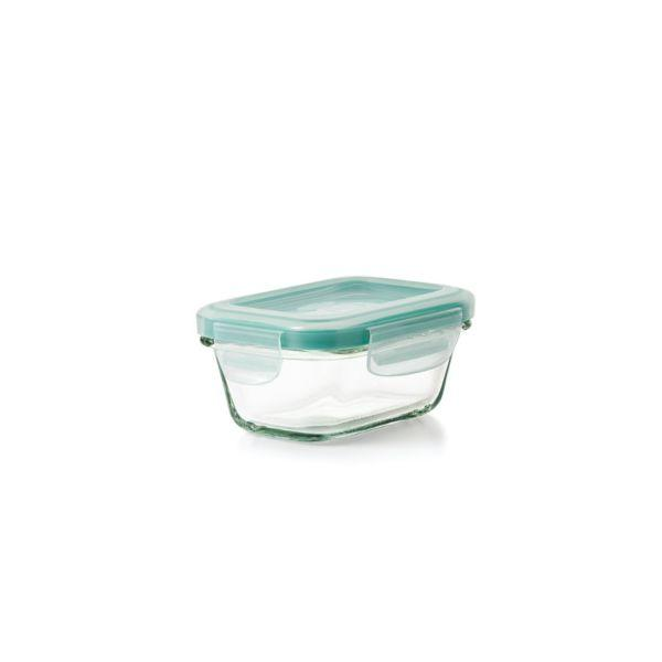 OXO Good Grips 4 oz. Smart Seal Glass Rectangle Container