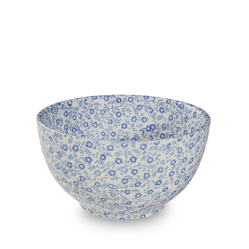 Burleigh Blue Felicity Footed Bowl - Mini