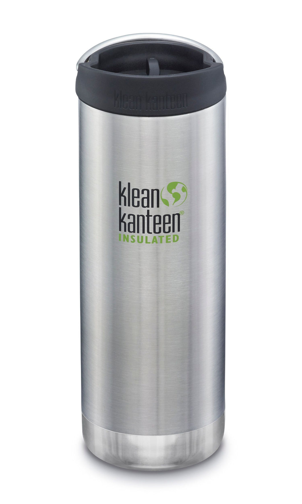 Matte pink insulated stainless steel bottle with a straight silhouette.