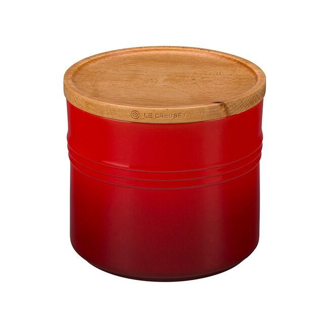 Le Creuset - Storage Canister with Wood Lid, XL