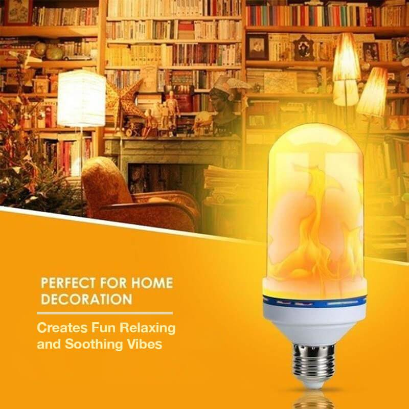 Flamex™ Realistic Flame Flickering Effect Light (Enhanced - Festive Edition)