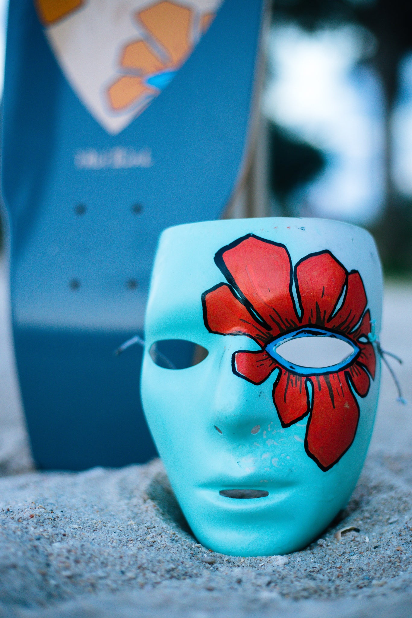 Lito Flower Mask