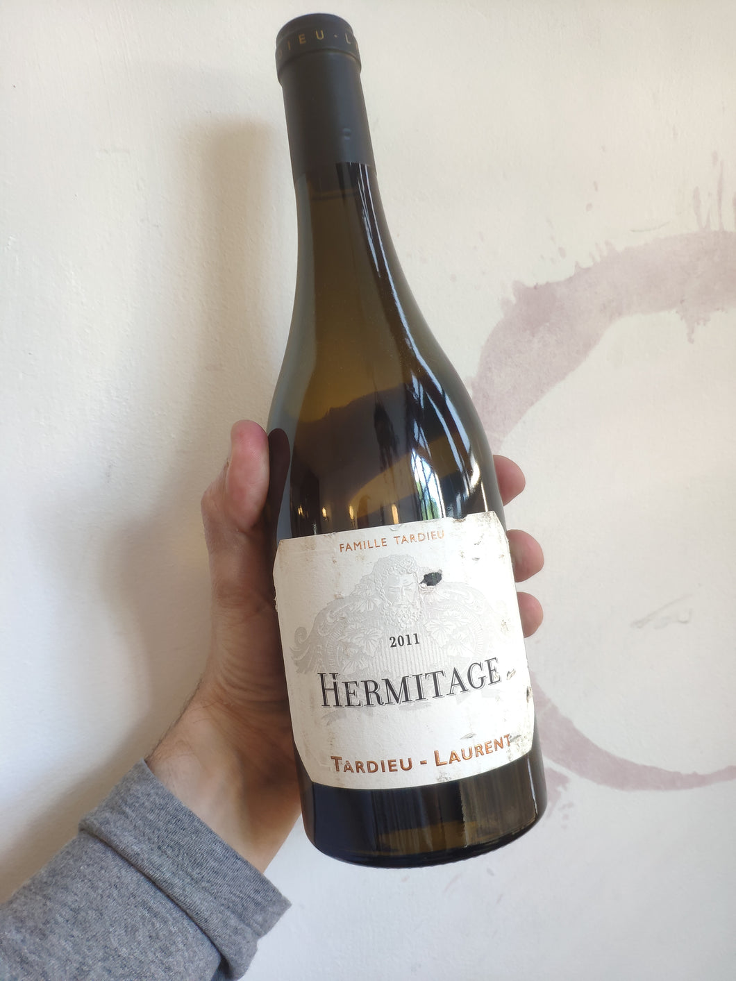 Hermitage Blanc Tardieu-Laurent, Northern Rhone, France, 2011