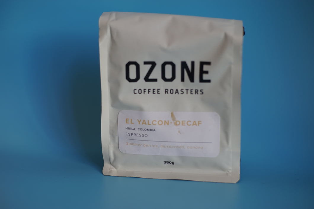 Ozone Coffee Finca El Yalcon DECAFF espresso ground- 250g