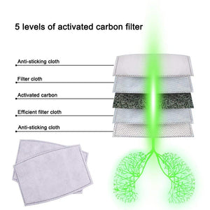 Filters Package | 6 PCS | for Cotton Masks