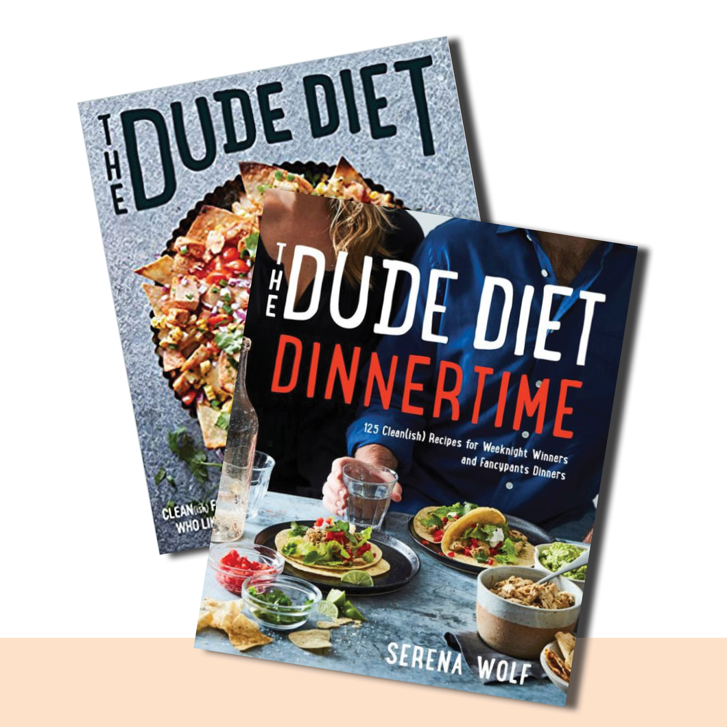 The Dude Diet Book Collection - SIGNED