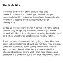 Load image into Gallery viewer, The Dude Diet - SIGNED