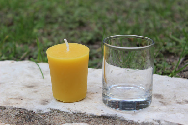 SHOT GLASS VOTIVE CANDLE HOLDER