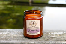 CALM SERENITY Aromatherapy Candle - lavender, and lemongrass