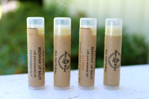 beeswax lip balm - citrus
