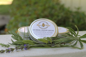ALL NATURAL BEESWAX HAND SALVE