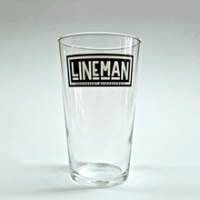 Load image into Gallery viewer, Branded Pint Glass
