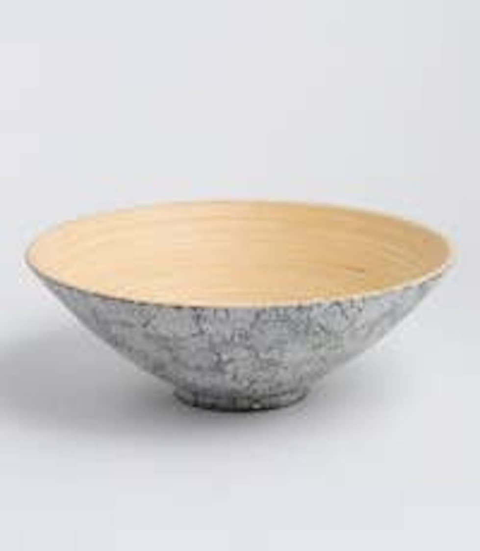 Bamboo Serving Bowl Khup