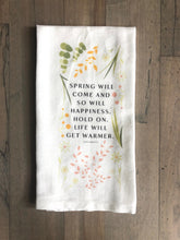 Load image into Gallery viewer, Custom Spring Tea Towels