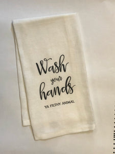 Wash Hands Tea Towels