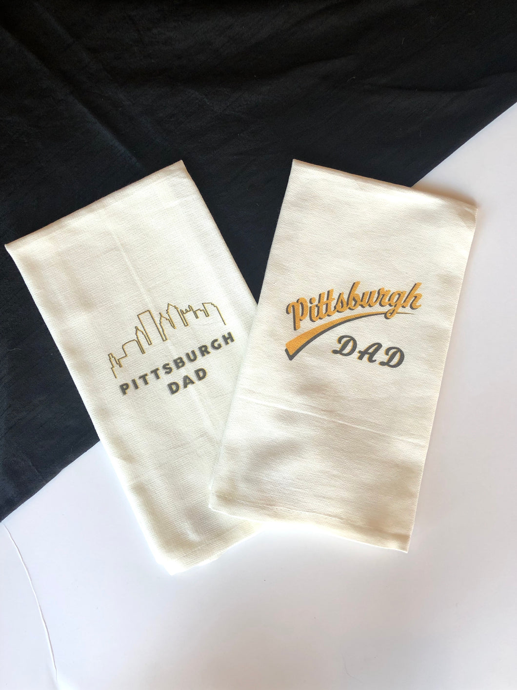 Pittsburgh Dad Tea Towels