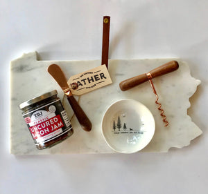 Father's Day Bacon Jam and Marble Pennsylvania Gift Set
