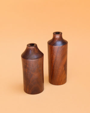 Mini Wooden Bud Vase