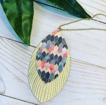 Load image into Gallery viewer, 'Rainbow Palette' Necklace