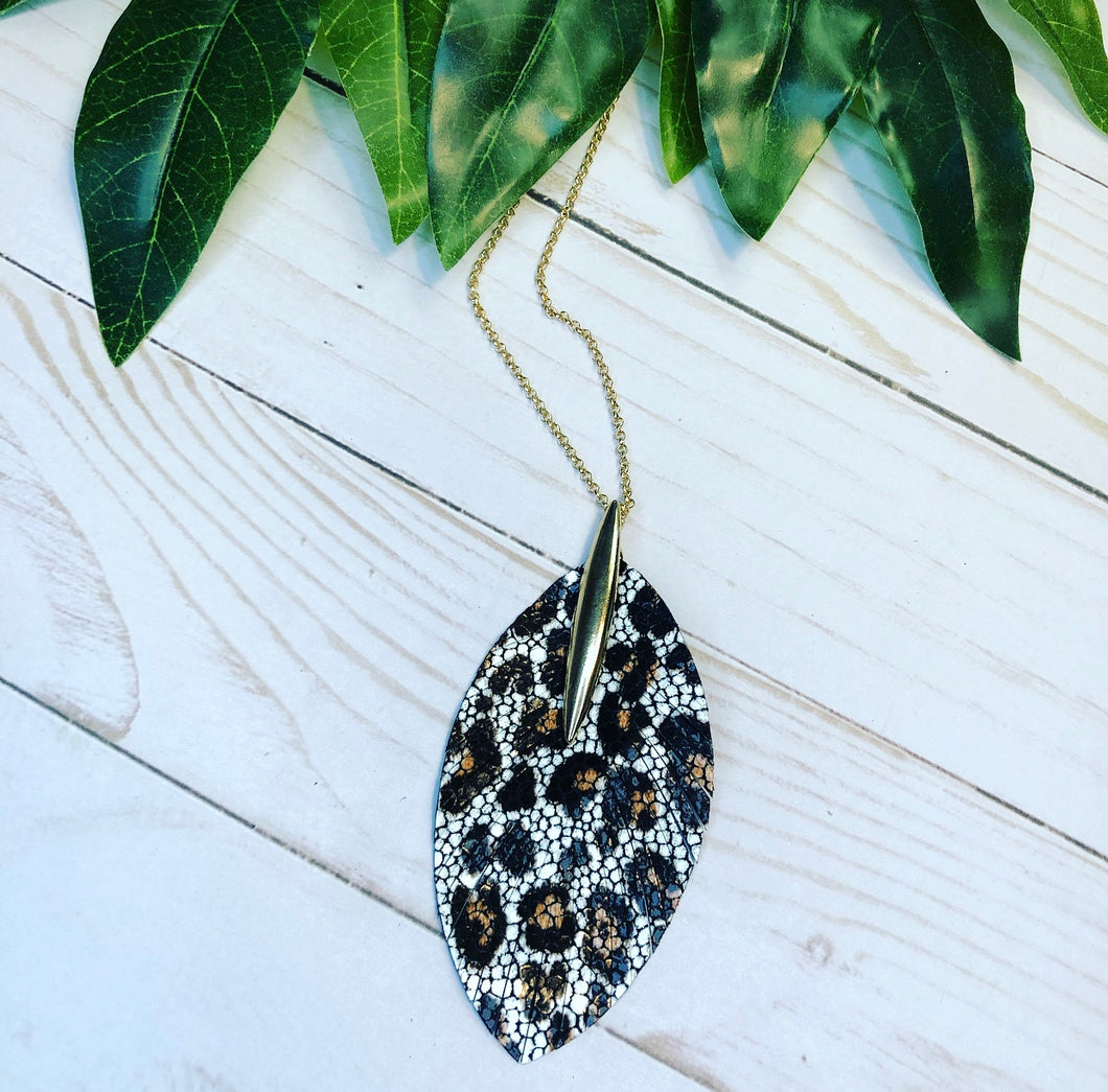 'Take a walk on the Wild Side' Necklace