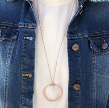 Load image into Gallery viewer, Classic Sphere Pendant Necklace - Rose Gold