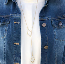 Load image into Gallery viewer, 'Seeing Double' Geometric Necklace - Gold