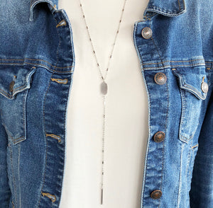 'Simplistic Style' Necklace - Silver