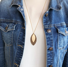 Load image into Gallery viewer, 'Elegance Never Fades' Necklace - Chestnut