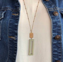 Load image into Gallery viewer, Boldly Modern Necklace - Slate