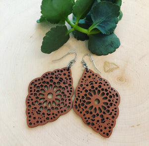 'Lovely Lace' Earring
