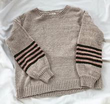 Load image into Gallery viewer, Chenille striped sweater